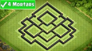 Clash Of Clans Town Hall 8 Farming Base (Golden Planet
