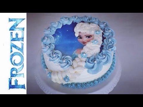 Frozen Torte | Elsa die Eiskönigin Torte | Frozen Birthday Cake