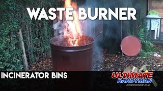 Garden burner bins