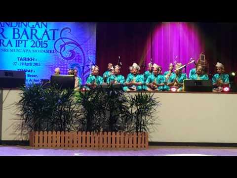 Dikir Barat IPT 2015 - Universiti Malaysia Kelantan (UMK) Tempat Ketiga