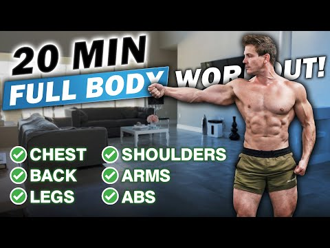"""20 MIN. AT HOME """"FULL BODY INFERNO"""" WORKOUT! (DO THIS MONDAY - FRIDAY!)"""