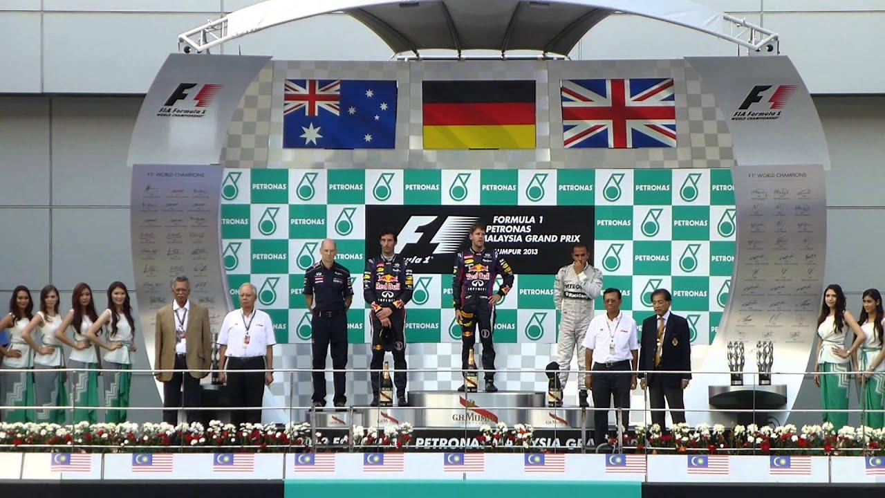 podium formula 1