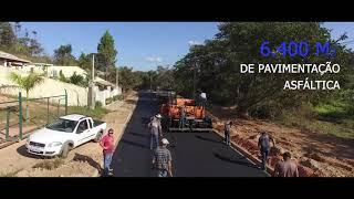 OBRAS - Pavimentação Av. Francisco Saragiotto - Serra Negra/SP