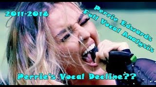 Perrie Edwards -  Complete Vocal Analysis - Best and Worst Vocals over the Years
