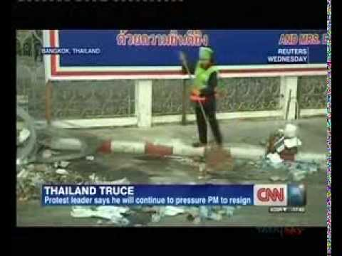 Thai violence eases ahead of king's birthday