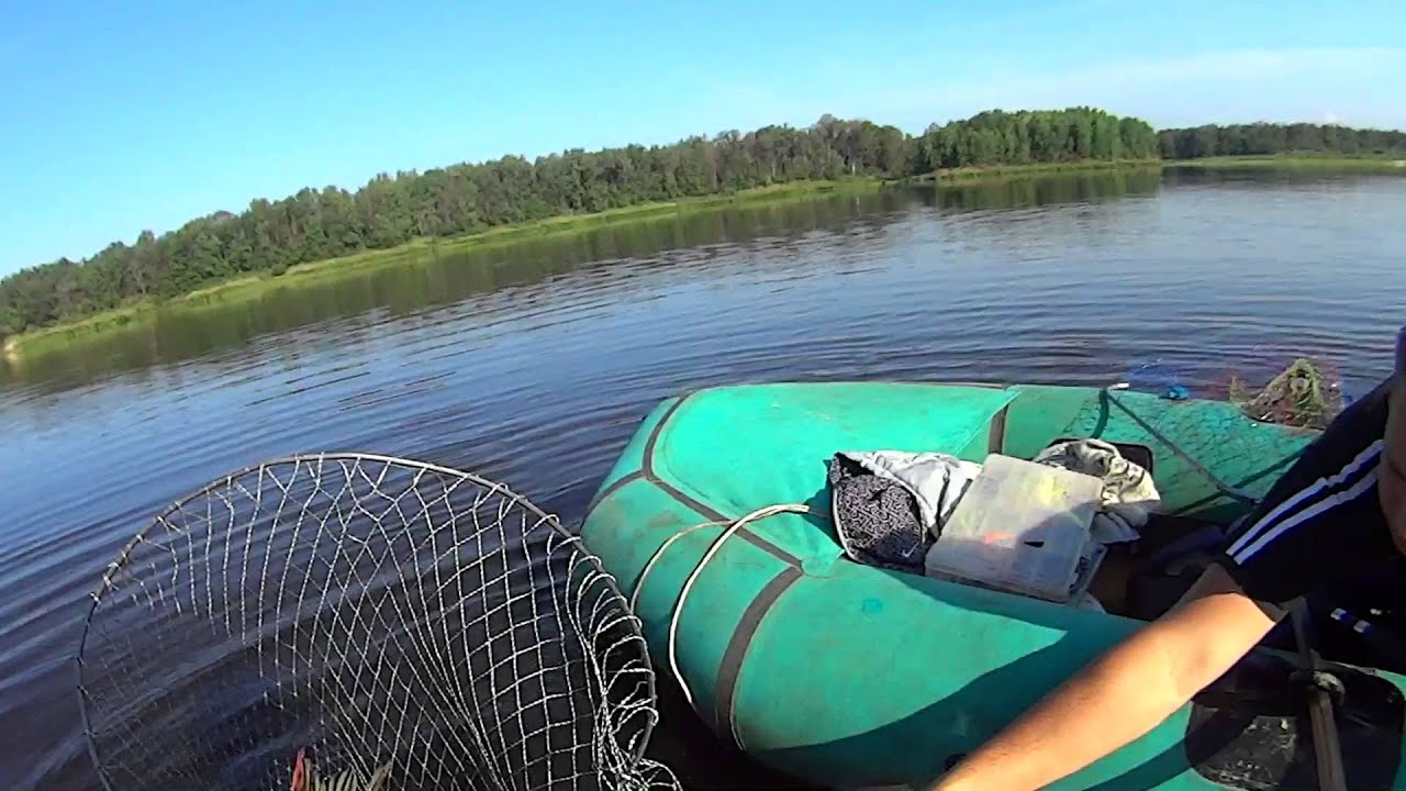 ловля щуки на кружки на пруду