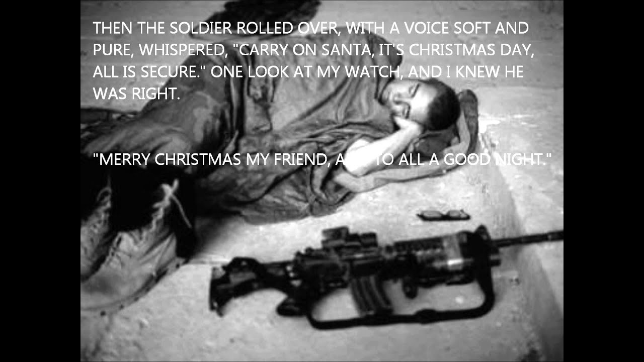 Soldiers Christmas - T'was The night Before Christmas - YouTube