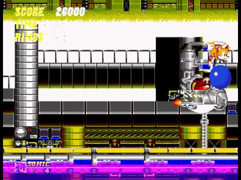 Sonic the Hedgehog 2 - died sliding backwards - User video