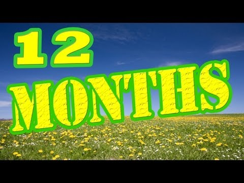 12 Months of the Year Song - Months of the Year Song - Children's Songs by The Learning Station