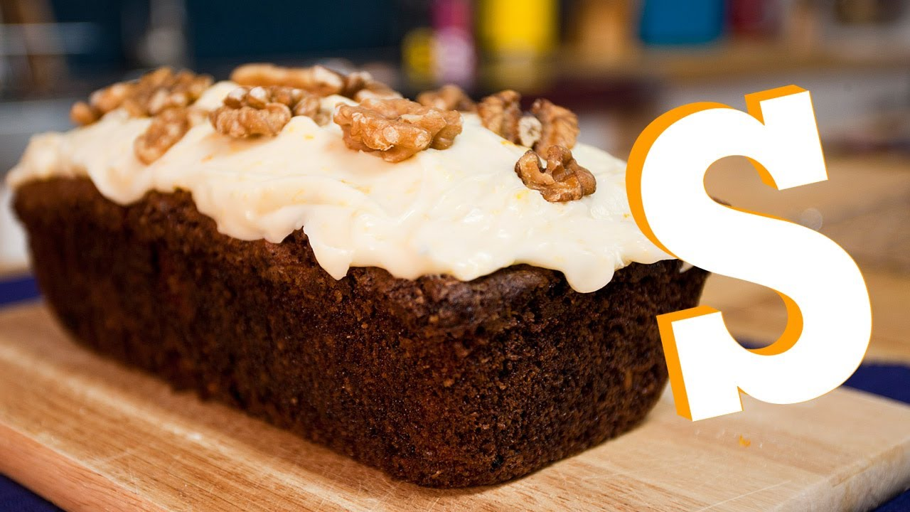 CARROT CAKE LOAF RECIPE - SORTED - YouTube