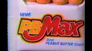 PB Max Candy Bar Commercial [1991]