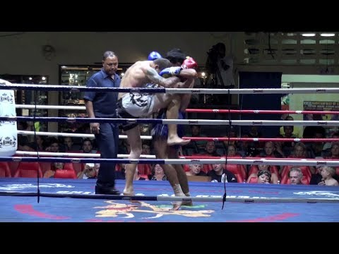Dillon Croushorn (Tiger Muay Thai) vs Aodnoi Lookbangpat @ Patong Boxing Stadium 31/3/2014