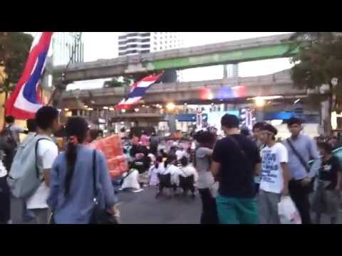 Thailand Protests in Bangkok