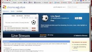 Kako Gledati Uzivo Sportske Meceve Preko Google Chroma