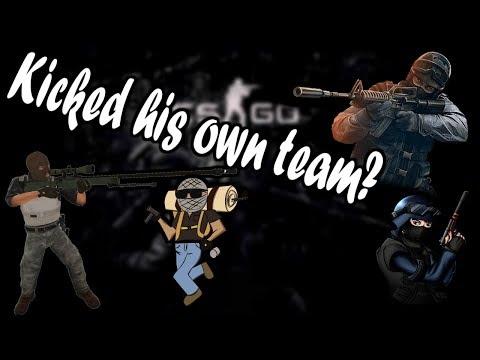 CS:GO COMP GAMEPLAY | 1080P | KICKED ALL TEAMMATES?