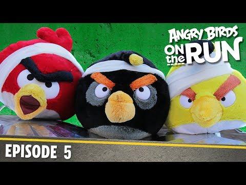Angry Birds- Na útěku - 5 - Odrazy