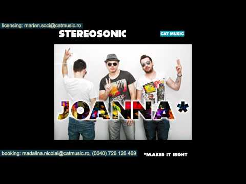 Stereosonic - Joanna (makes it right)