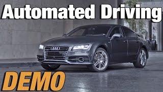 Audi A7 otomatik park sistemi