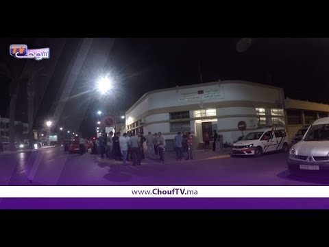 2 شفارة بموطور كريساو سائق طــاكسي و شرملوه فكــازا بالليل   |   خارج البلاطو
