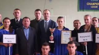 Змагання з настільного тенісу на першість університету