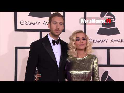 Iggy Azalea and Rita Ora arrive at 56th Annual GRAMMY Awards Redcarpet