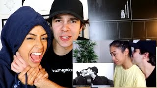 REACTING TO OUR RELATIONSHIP! HE CHOKES ME?!