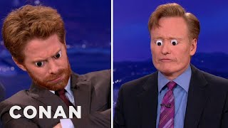Seth Green Uses Googly Eyes to Catch Cat Naps