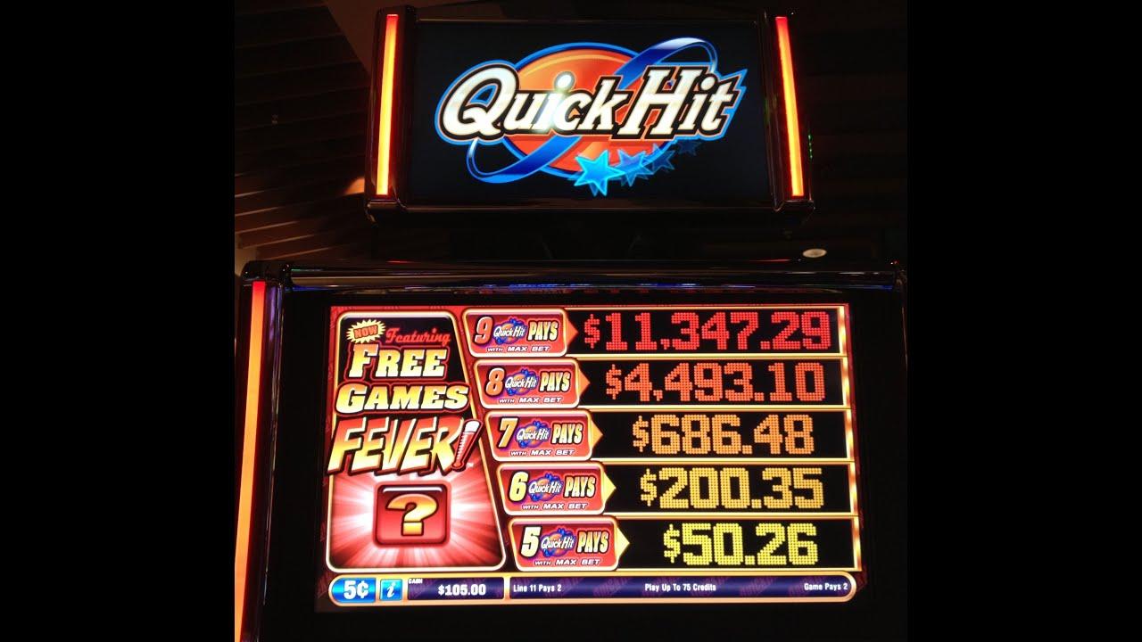 Quick hits game slot machine