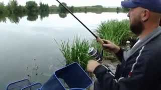видео для начинающих ловить фидером