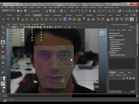 CumaGiller-3d: Maya-05_Organik Modelleme – Kafa modelleme yöntemleri