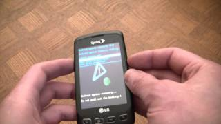 How To Hard Reset And Format An LG Optimus S Android Smart
