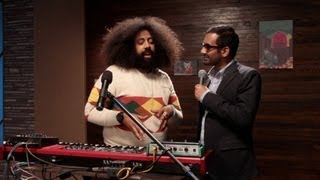 Reggie Watts Makes Music: Aziz Ansari