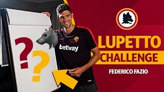 Speed Drawing Challenge: Can Federico Fazio sketch the Lupetto?