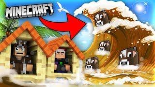 Minecraft SÓNG THẦN BÒ | Thử Thách Sinh Tồn