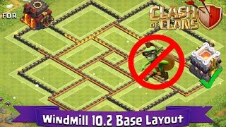 The best th9 farming base post update centralized heroes and cc de