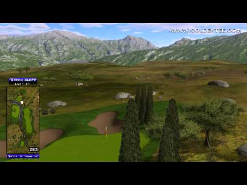 Golden Tee Great Shot on Greek Hills!