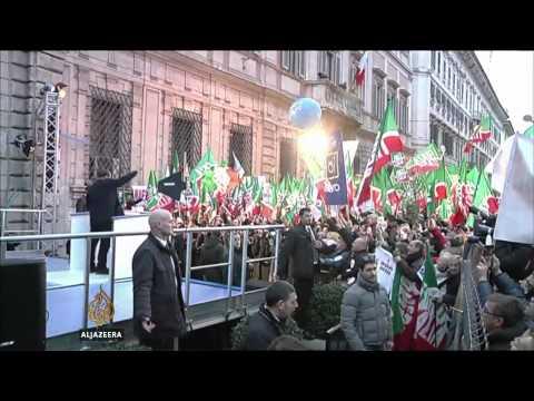 Italy's Berlusconi begins community service