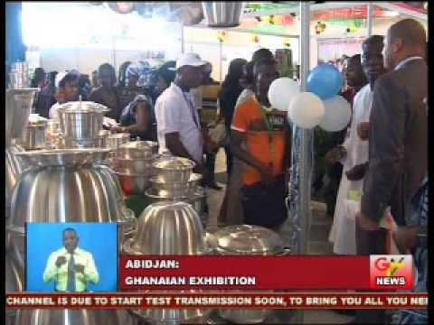 Ghana Holds Exhibition In Cote d' Ivoire
