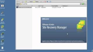 VMware vCenter SRM: Installation view on youtube.com tube online.