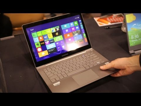 Samsung Series 7 Ultra Hands On - CES 2013