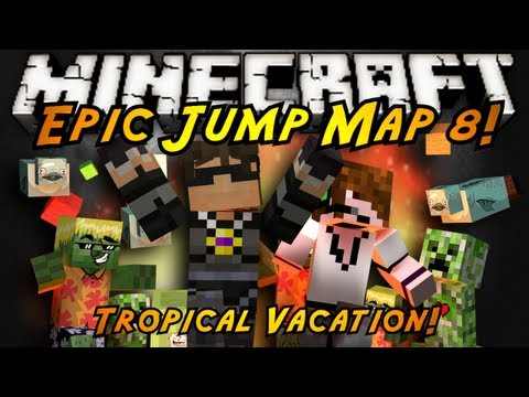 Minecraft: Epic Jump Map Tropical Vacation FINALE!