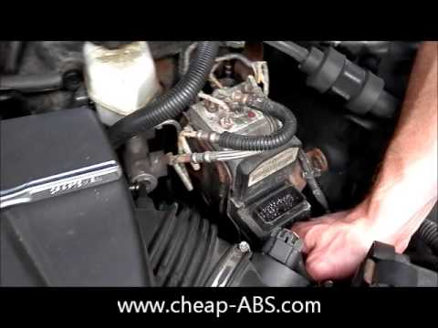 Pontiac Grand Prix ABS Module Removal YouTube