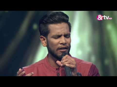 Paras Maan - Performance - Knock Out Round Episode 16 - January 29, 2017 - The Voice India Season2