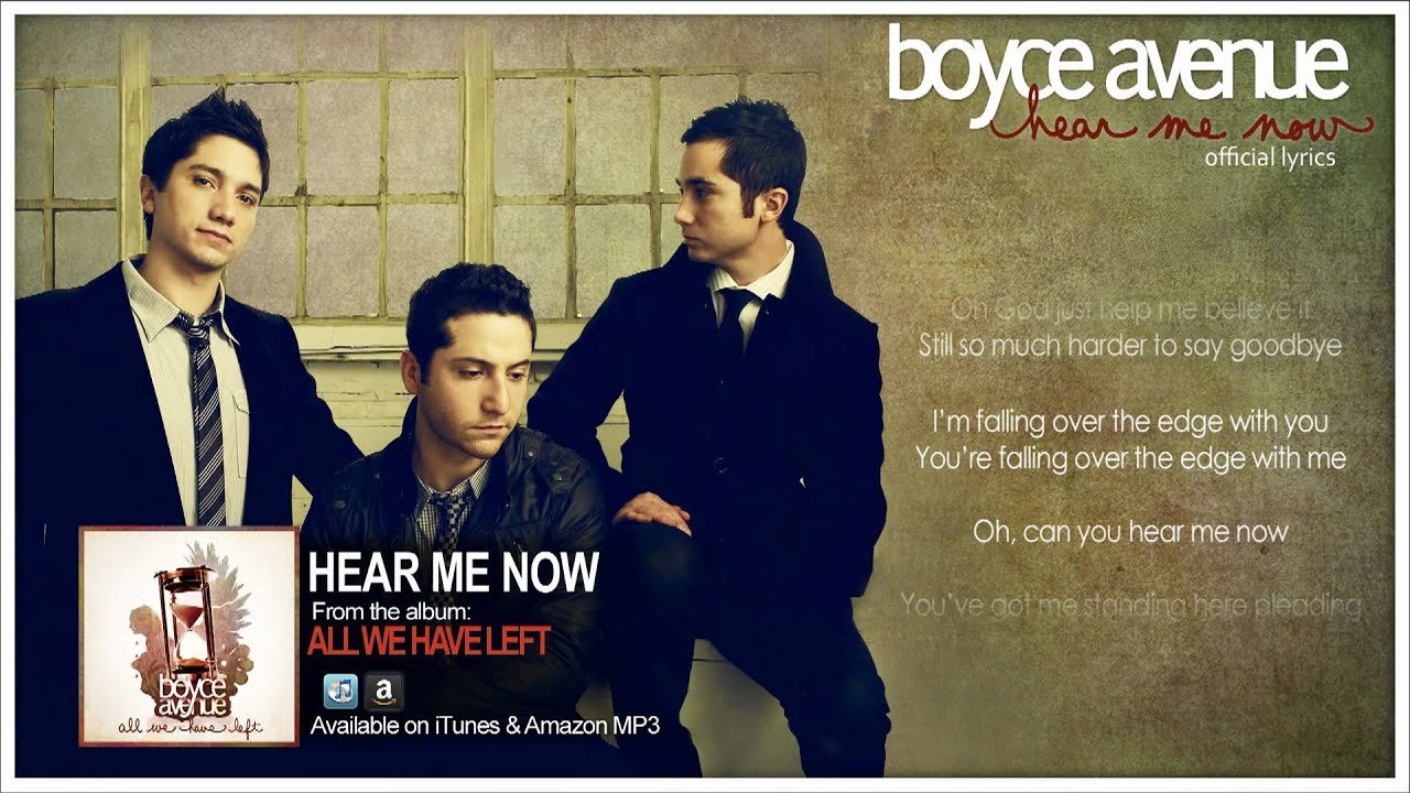 Breakeven (Falling To Pieces) - Boyce Avenue [Download M4A ...