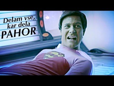 Klemen Slakonja kot Super Barbika - Delam vse, kar dela Pahor