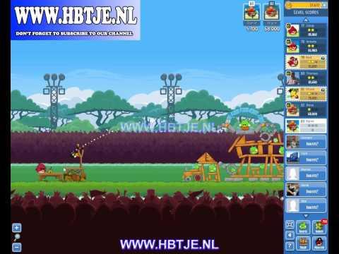 Angry Birds Friends Tournament Level 5 Week 75 (Tournament 5) no power-ups