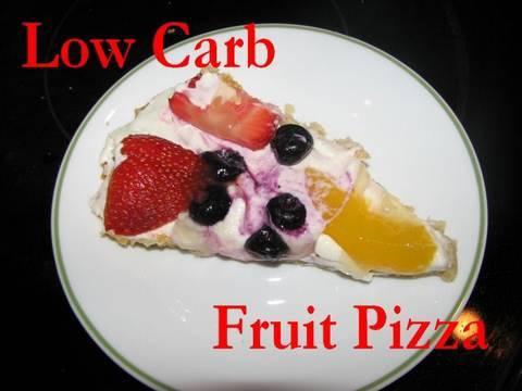 low carb fruit fruit pizza recipes