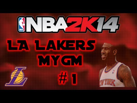 NBA 2K14 PS4 LA Lakers MyGM Episode 1: Iman Shumpert!