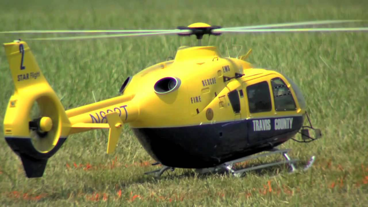 Eurocopter ec 135t 1 rc model helicopter by vario ircha best in scale youtube - Runryder rc heli ...