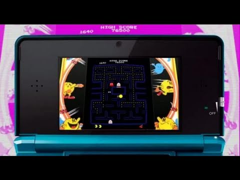 Pac-Man & Galaga Dimensions : 3D Gameplay video
